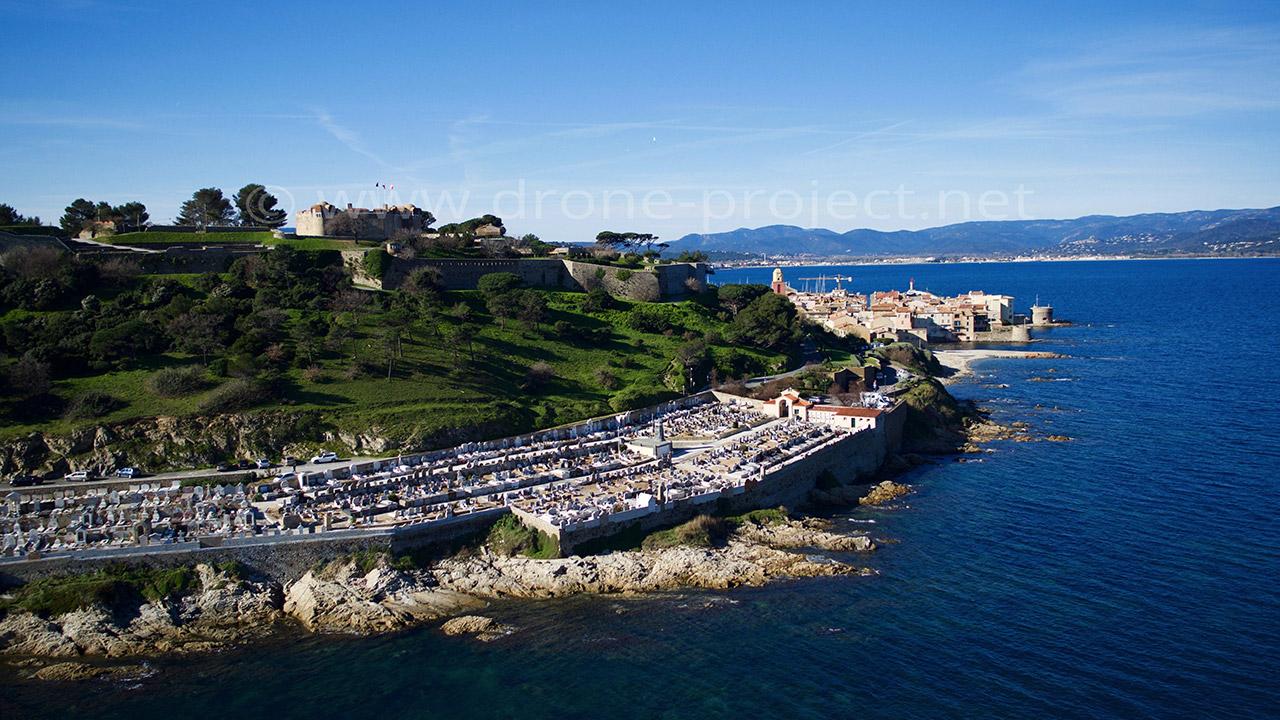 cimetière marin drone project