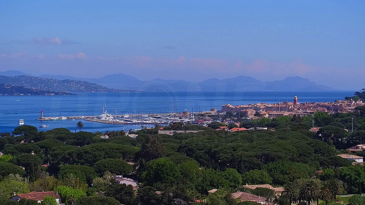 St tropez aerial drone project
