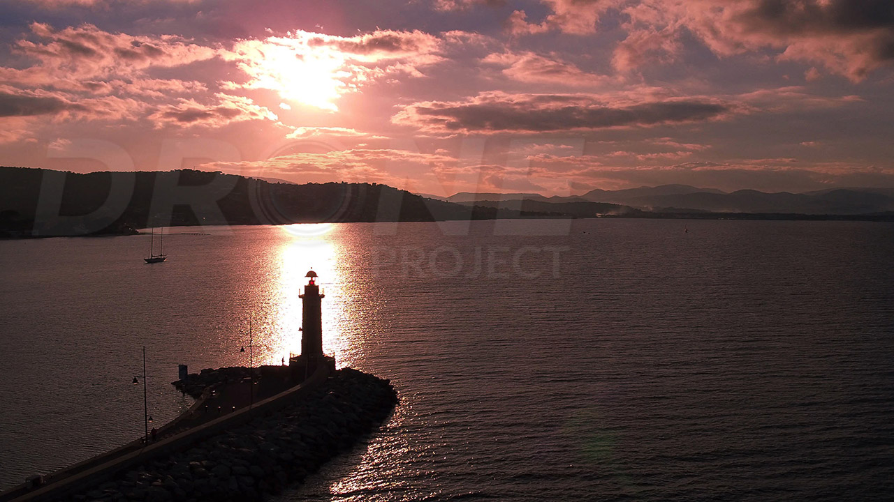 phare st tropez drone project