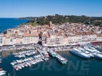 Drone Saint Tropez le port