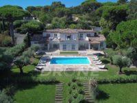 drone immobilier Var Saint Tropez properties