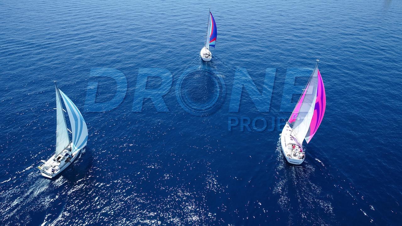 DUFOUR YACHTS DRONE VOILES Var Golfe de Saint tropez ©drone-project.net
